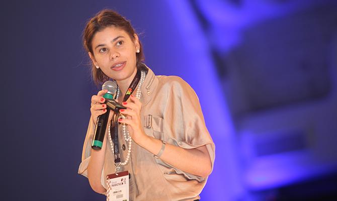 Reunião almoço com a economista Fabiana D'Atri – 28 de junho