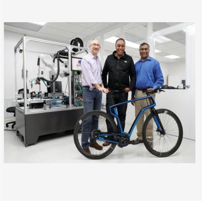 Startup do Vale do Silício usa impressora 3D para fazer bicicleta de fibra de carbono
