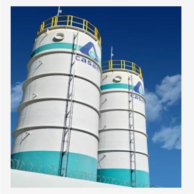 Tecniplas apresenta no Concasan tanques projetados para áreas sujeitas a elevadas cargas de vento