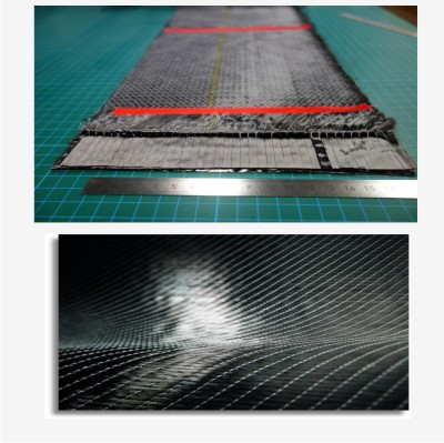 PRIMEIRO NO MUNDO: Controle inteligente para defeitos em tecidos multiaxiais de carbono