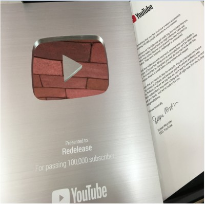Canal da Redelease no YouTube alcança 100 mil inscritos