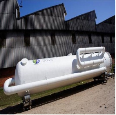 Tecniplas fabrica scrubber para tratamento de biogás