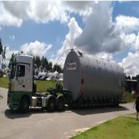 Tecniplas exporta tanques de PRFV para a Argentina
