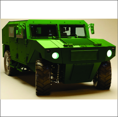 Gladiador II adquirido para equipar o BOPE da Polícia Militar de Rondônia