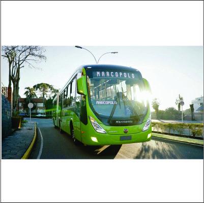 Volvo e Marcopolo exportam 30 ônibus urbanos para a Guatemala
