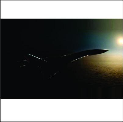 Novo avião supersônico poderá viajar de São Paulo até Paris em 2 horas