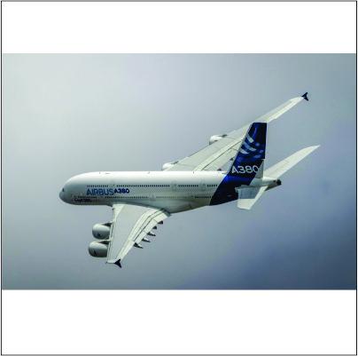 Ações das Airbus sobem para nível recorde