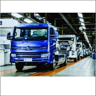 Volkswagen inicia produção de caminhão elétrico no Brasil