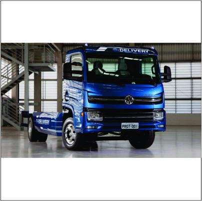 Volkswagen prevê vendas de até 2 mil caminhões elétricos por ano
