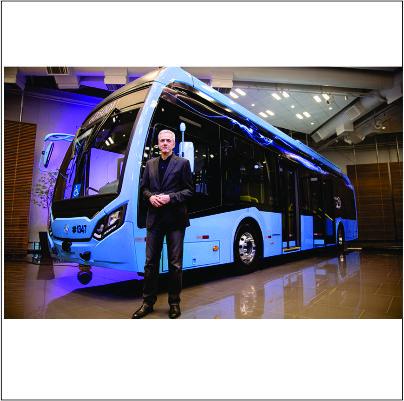 Mercedes-Benz investe R$ 100 milhões no seu primeiro ônibus elétrico no Brasil
