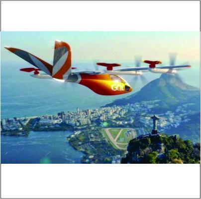 Gol anuncia malha aérea com 250 carros voadores a partir de 2025