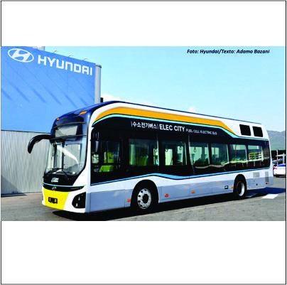 Hyundai pretende que todos os seus modelos de ônibus e caminhões tenham versões elétricas até 2028