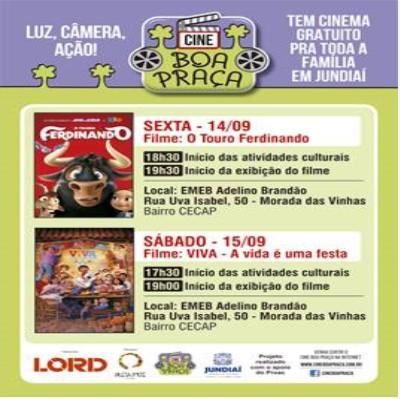 Lord Patrocina Cinema Itinerante Em Jundiai Almaco